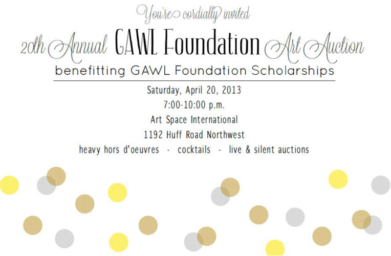 GAWL-Art-Auction-Invitation