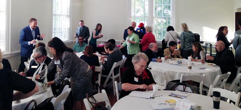 FLS members gather for breakfast