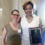 Toni Roberts received this year's Liberty Bell award